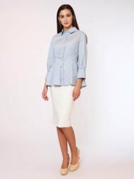 Gracia Button Up 3/4 Sleeve Shirt