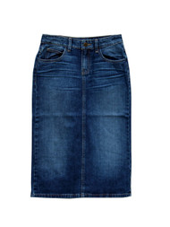 Norah Denim Skirt  - IN STOCK