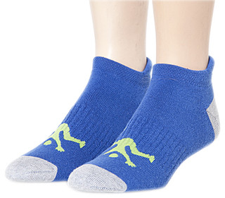Ankle Sport Socks Royal & Grey