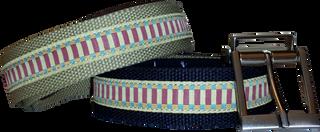 2 Pack Web Belt w/ 1 interchangeable Prong buckle
