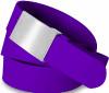 Plain Buckle -Purple Solid
