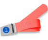Perforated Belt Anchor Logo Stop Sign Red