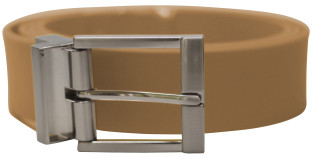 Solid Belt prong Buckle Mocha