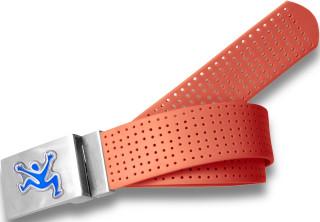 Perforated Belt CJ Logo Tangerine