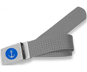 Anchor Logo- Grey  Peforated