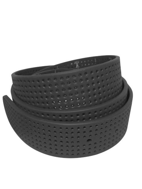 Coal Black Perforated