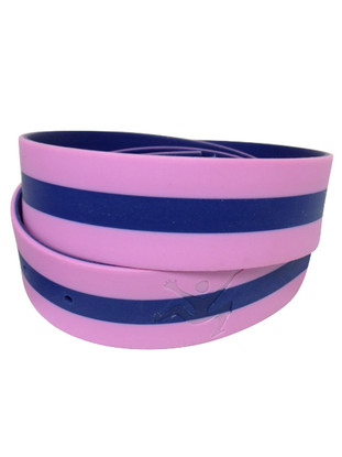 Pink Navy Stripe