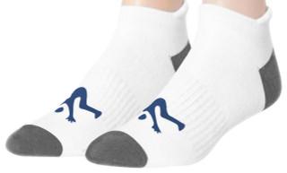 Ankle Sport Socks White/ Grey