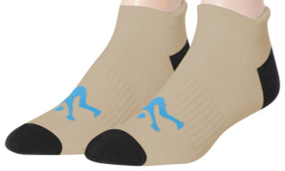 Ankle Sport Socks Tan /Black