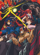 Gurren Lagaan Wall Scroll