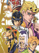 JoJo - Golden Wind Wall Scroll