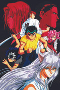 Yu Yu Hakusho Wall Scroll