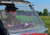 SuperATV '15+ Honda Pioneer 500 Flip Out Windshield
