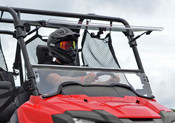 SuperATV '14+ Honda Pioneer 700 Flip Out Windshield
