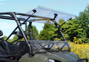 SuperATV '10+ Polaris Ranger Full Size 570/XP800 Flip Out Windshield
