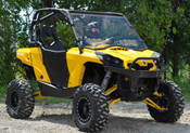SuperATV Can Am Commander 800/1000 Vented  Full Windshield