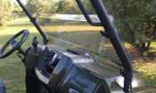 Extreme Metal Products Polaris Ranger Full Size Half Windshield