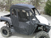 GCL Yamaha Wolverine Full Cab for Hard Windshield