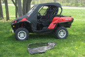 3 Star Can Am Commander Full Cab w/ Vinyl Windshield