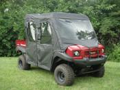 GCL Kawasaki Mule 4010 Trans Full Cab w/ Vinyl Windshield