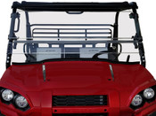 Kawasaki Mule Pro-FXR Scratch Resistant Full Tilting Windshield
