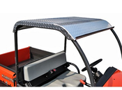 DIAMOND PLATE ALUMINUM ROOF FOR KUBOTA RTV400 & 500