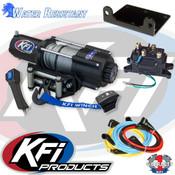 NEW 4500lbs KFI UTV Winch (WIDE) U45w-R2