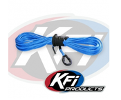 "KFI 1/4"" Synthetic 50' UTV Winch Cable (Blue)"