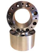Steel Front Wheel Spacer Pair for '00-03 John Deere 4700 Tractor