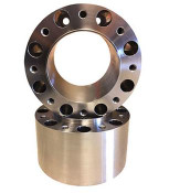 Steel Front Wheel Spacer Pair for '00-03 Kubota L3000 Tractor