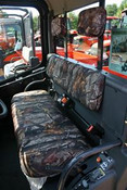 Greene Mountain Kubota RTV1100 Seat Covers with Head Rest Covers