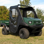 Over Armour Kawasaki Mule 4010 Soft Door Rear Window Combo
