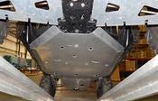 Axiom Polaris RZR XP4 1000 Skid Plate