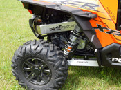 Axiom Polaris XP 1000 Flames Exhaust Cover