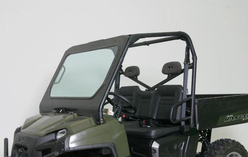 Polaris Ranger Windshield >> Bad Dawg Polaris Ranger D O T Glass Windshield W Single Manual Wiper
