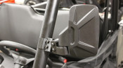 Bad Dawg Polaris Profile Tubing Mirrors