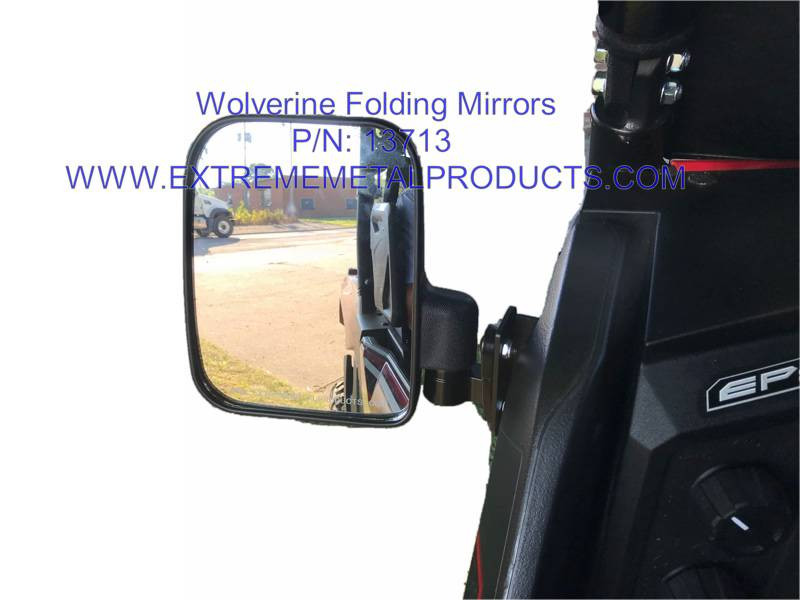 EMP Yamaha Wolverine X2/X4 Folding Side Mirrors
