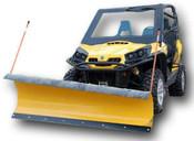 "Denali Pro Series 72"" Plow Kit for Kawasaki Mule"