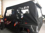 Side X Side Yamaha Wolverine X4 Crew Cab 4 Door UTV Full Cab Enclosure Sides & Rear Window