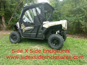 Side X Side Yamaha Wolverine X2 2 Door UTV Soft Cab Enclosure Sides