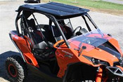 Greene Mountain Can Am Maverick/ Commander JStrong Hardtop with Stereo and LED lights