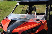 Geene Mountain Can Am Maverick JStrong Folding Windshield