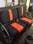 Green Mountain Kubota RTV-X1100C Seat Covers with Head Rest Covers