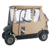 Classic Deluxe 3-Sided Golf Cart Enclosure