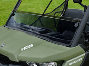 Spike Can Am Defender Tinted Short Windshield - GP