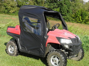 3 Star Honda Big Red Full Cab Enclosure for Hard Windshield