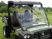 3 Star John Deere Gator HPX/XUV 2-Pc Vented Windshield 2015+