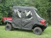 3 Star Kawasaki Mule 4000/4010 Trans Soft Door/ Rear Window Combo