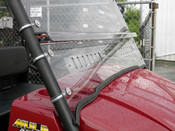 3 Star Kawasaki Mule SX 2-Pc Vented Windshield