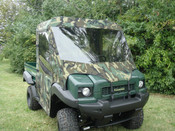 3 Star Kawasaki Mule SX Full Cab w/ Vinyl Windshield